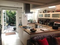 Double room in lovely 2 bedroom garden flat from Dec 24 to Jan 21