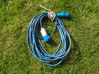 Hook up / Extension Cables for Caravan Boat etc.