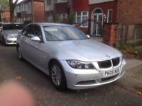 BMW 320i, E90, automatic or manual selection, silver, excellent condition and runner,
