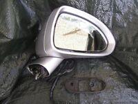 vauxhall corsa D driver side mirror