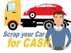 Scrap your car today and get FREE collection with instant payment!