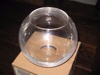 8 x Glass Vase Bowls (used only once for family celebration)