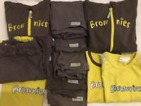 For sale Girls guiding Brownies uniform bundle