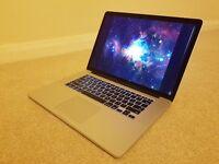 Apple MacBook Pro Retina 15 Late 2013 2.3GHz i7 512GB SSD 16GB RAM Damaged Screen