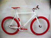 New NOLOGO Aluminium single speed & fixie bike/ road bicycles + 1year warranty 16a