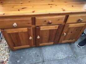 Solid wood dresser free for pick up,needs to be gone. Now SOLD