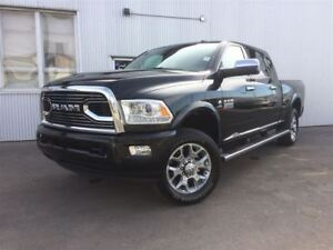 2016 Ram 3500 Longhorn Limited, 4X4, LEATHER, SUNROOF, NAV.