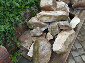 Rockery Rocks and Hardcore Rubble Free to a good home