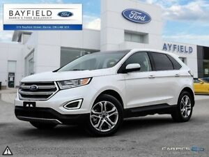 2017 Ford Edge Titanium |AWD|LEATHER|SUNROOF|NAV|BLUETOOTH|CR...