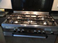 Baumatic 5burner cooker