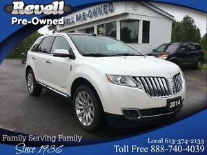 2014 Lincoln MKX AWD Limited  *Moon  Nav  Adaptive cruise