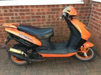 Direct Bikes 50cc 4stroke moped scooter