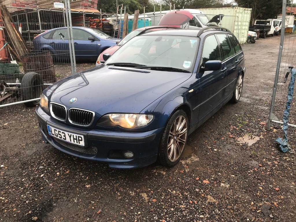 Bmw E46 330d M Sport Estate 53 Plate P X Welcome In Romford London Gumtree