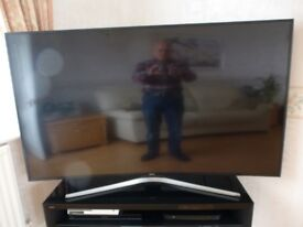 """SAMSUNG 65"""" CURVED ULTRA HD 4K TELEVISION AS NEW"""