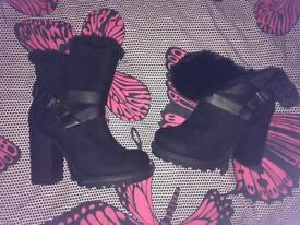 BOOTS SIZE 3 BRAND NEW FROM PEACOCKS