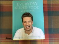 Selection of cookery books; Artisan Bread Jamie Oliver Super Food & Anjum's Indian Food all for £5