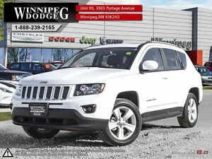 2016 Jeep Compass High Altitude 4x4 w/Sunroof & Leather
