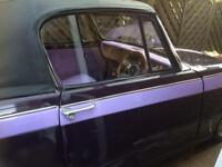 Classic car triumph herald 13/60 convertible
