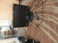 """Combi TV (19"""") with inbuilt DVD & iPhone charger + Freeview"""