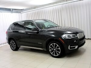 2017 BMW X5 35i x-DRIVE AWD SUV w/ HEATED LEATHER SEATS, NAV,