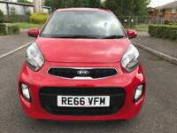 2016 Kia Picanto 1.0 1 Air 5dr Red Only 1200 Mileage 20 Road Tax Part Ex Welcome