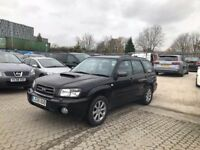 2005│Subaru Forester 2.0 XT 5dr│2 Former Keepers│Service History│Cambelt Replaced│Hpi Clear│Sunroof