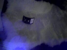 Cream rug