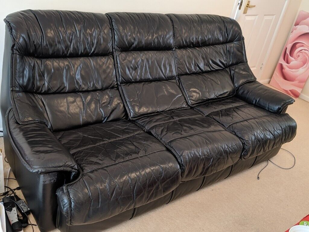 Fabulous Leather 3 Seater Sofa And Armchair In Bourton On The Water Gloucestershire Gumtree Gmtry Best Dining Table And Chair Ideas Images Gmtryco