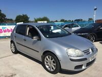2006 56 Vw Golf 2.0 SDI TURBO DIESEL- 5 Door Hatchback - Privacy Windows - MOT December 2016 FULL SH