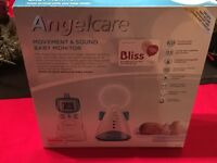 Angelcare Movement and Sound Baby Monitor for sale