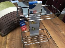 Bathroom cosmetic shelf new with labels