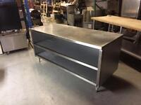 Comptoir En Acier Inox 6' Stainless Counter