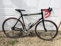 Orbea road bike, size large