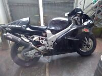 Suzuki TL1000R V reg, Jet Black, Carbon Cans - LOUD!, New Battery, Superb V Twin, £2250.00 ono