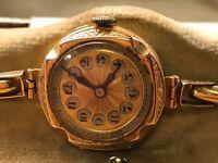 18ct Gold antique watch.