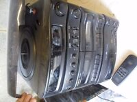 Full Stereo System with Mini Disc, Record Player, Tuner, CD, Internet Radio and Cassette