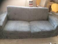 2 seater grey sofa