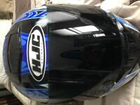 Used 5 times HJC Motorcycle Helmut.