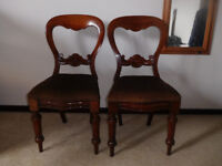Two antique chairs in very good condition.