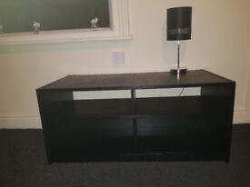 Tv stand. With 4 shelfs