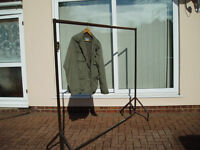 mobile coat or dress hanging rails i have 2 they can be made shorter in hight