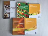 Accountancy Books job lot of 5