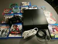 PS4 with 14 games