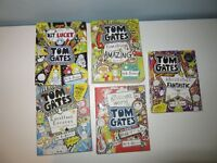 Selection of 20 modern children's books - Tom Gates, Jeff Kinney, David Walliams and Others
