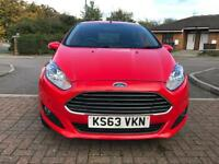 2014 Ford Fiesta 1.0 EcoBoost (Start/Stop) RED 5dr Only 16K Mileage Part Ex Welcome