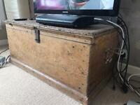 Fantastic wooden storage chest