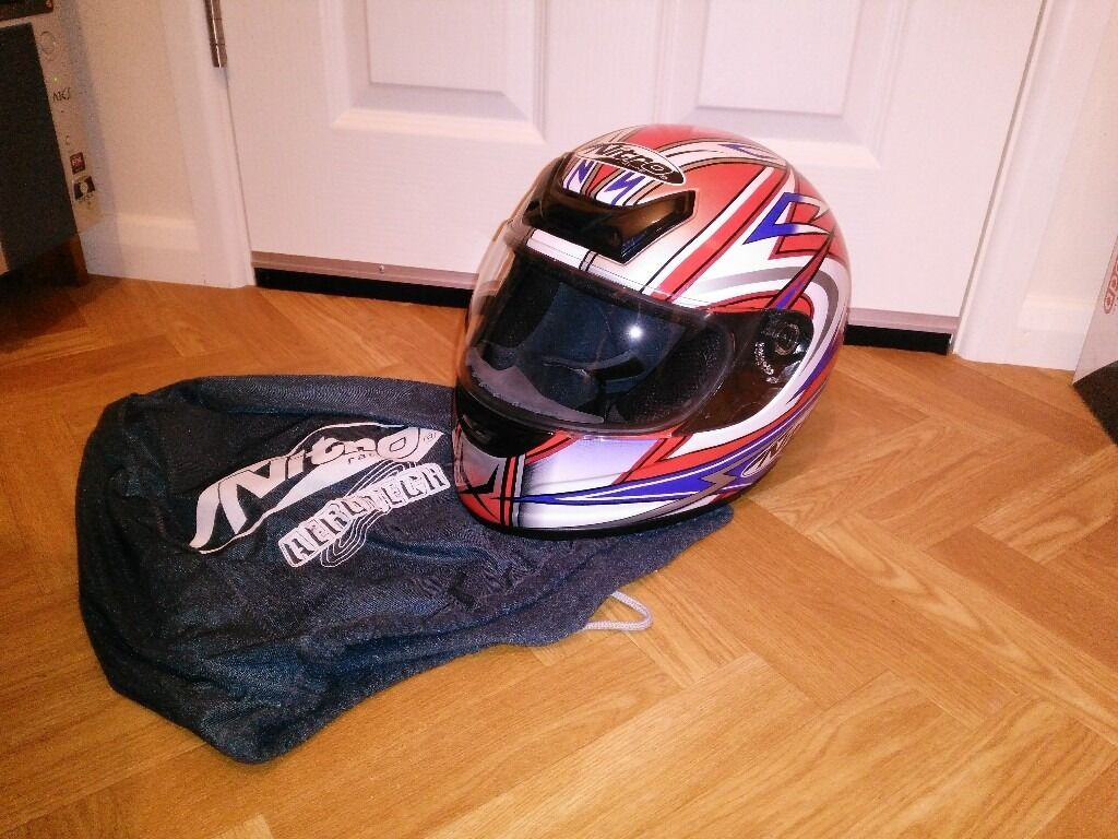 Nitro N320-VX motorcycle helmet (Size L, New)