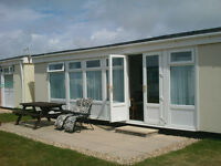 Carmarthen Bay Holiday Park 3 Bedroom 5 Berth Chalet, Easter Holidays £375 per week