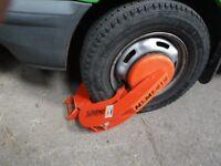 Full stop Nemesis Wheel clamps