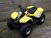 Suzuki lta 50 quad really good we quad